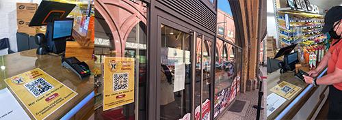 Doublejack Club Marketing offline in shops, bars, kosk, fuelstation
